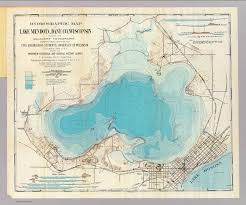 University Of Wisconsin Map by Hydrographic Map Lake Mendota David Rumsey Historical Map