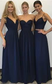 navy blue lace bridesmaid dress best 25 lace bridesmaid dresses ideas on
