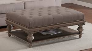 Large Storage Ottoman Top Ottomans Large Rectangular Storage Ottoman Coffee Table Within