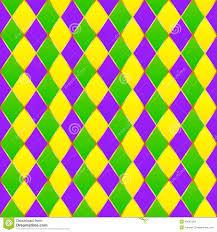 green mardi gras green purple yellow grid mardi gras seamless stock vector