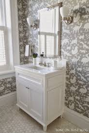 wallpapered bathrooms ideas wallpapered bathrooms pink walls and a wallpapered ceiling via