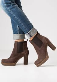 womens boots marshalls unisa boots outlet unisa uche high heeled ankle boots braun