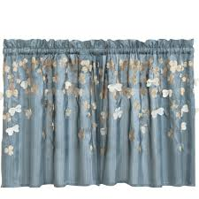 Blue And Yellow Kitchen Curtains by Kitchen Gingham Walmart Kitchen Curtains In Yellow For Kitchen