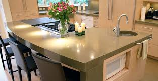 island kitchen counter kitchen concrete countertop gallery cheng concrete exchange