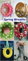 Craft Decorating Ideas Your Home Spring Wreaths Spring Inspiration Wreaths Inspiration And Craft