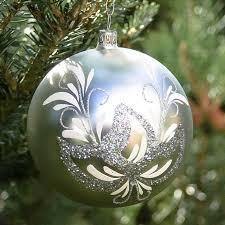 tree balls antique 6 cm lauscha glass