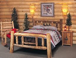Rustic Bedroom Furniture Suites Paul Bunyan Cannonball Bed Beds Queen Bedroom Furniture Collection