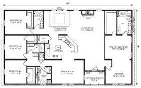 fancy 40 x 60 4 bedroom house plans 40x60 home floor plans home act