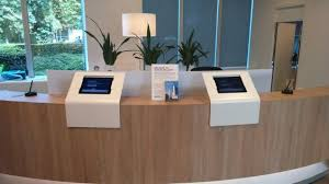 Accessible Reception Desk Enhanced Productivity And Happiness 5 Office Design Trends To