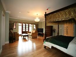 master bedroom wooden partition for and bathroom thistlecroft