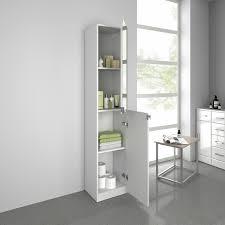 modern tall bathroom mirror furniture storage cabinet cupboard