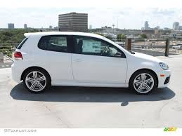 white volkswagen golf candy white 2013 volkswagen golf r 2 door 4motion exterior photo