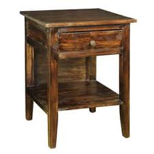 rustic nightstands u0026 bedside tables for less overstock com