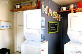 laundry room mini makeover is fun and functional homejelly