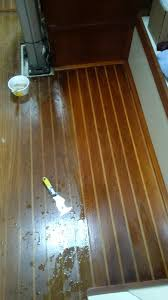 Teak And Holly Laminate Flooring What To Use On Interior Teak Fix It Anarchy Sailing Anarchy