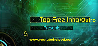 top free intros and outro templates youtube help bd this site