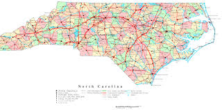 map of virginia and carolina with cities map carolina counties lapiccolaitalia info