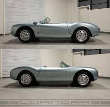 porsche spyder 1955 1955 porsche 550 spyder beck replica 1 481 miles sloan cars