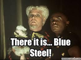 Mugatu Meme - it is blue steel