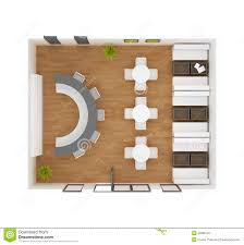 cafe bar restaurant floor plan stock illustration image 42885123