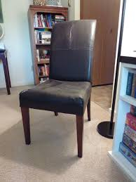 Restoration Hardware Leather Chair Un Upholstering A Parsons Chair In Which I Try To Imitate