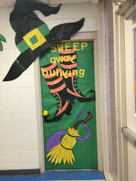 Halloween Door Decoration Contest Door Decoration Halloween Anti Bully Things For