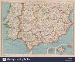 Portugal Spain Map by Iberia South Spain U0026 Portugal Andalusia Murcia Valencia