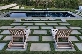paver patio designs landscape contemporary with outdoor stairs