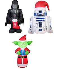 Blow Up Lawn Decorations Star Wars Inflatable Christmas Decorations U2022 Comfy Christmas