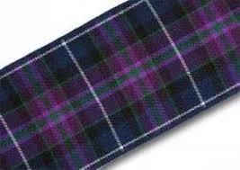 tartan ribbon pride of scotland modern tartan ribbon various widths