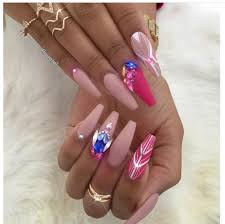 2842 best nail art images on pinterest coffin nails acrylic