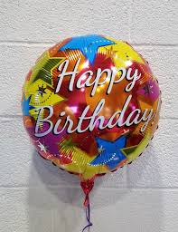 birthday foil balloon the flower shop