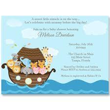 noah ark baby shower noah s ark baby shower invitation the invite
