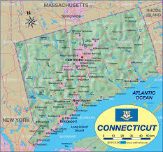 Map De Usa by Map Of Connecticut United States Usa Map In The Atlas Of The