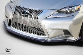 lexus lfa body kit 14 15 lexus is am design dritech carbon fiber front bumper lip