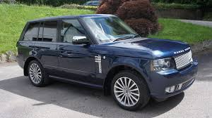 range rover autobiography 2012 land rover cummings of bodmin