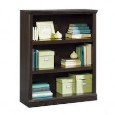 Sauder 3 Shelf Bookcase Cherry Bookcases U0026 Libraries
