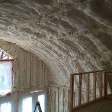 spray foam insulation on ceiling quonset hut my quonset hut