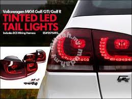 vw led tail lights volkswagen golf mk6 rear led tail light l car accessories