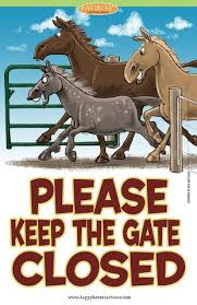 A Cartoon Barn Barn Signs Gate Happyhorse Cartoons Give The Gift Of A Smile