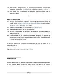 affidavit template uk ex2 south meeting outline sample reference