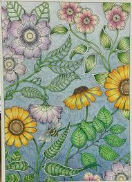 secret garden colouring book postcards from joanna basford s secret garden postcard book just finished