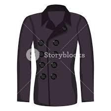 Purple Color Vector Winter U0027s Jacket With Purple Color Royalty Free Stock Image