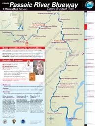 Slippery Rock University Map Passaic River Maps