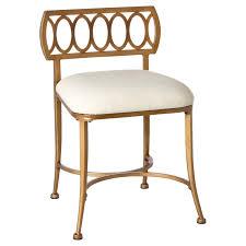 Bathroom Vanity Chair With Back Marsala Vanity Stool Hayneedle