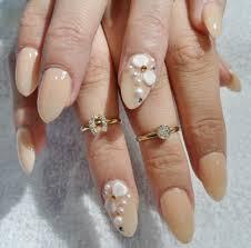 black u0026 red gel nails with rhinestones design yelp