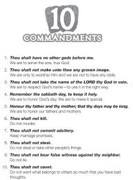 free coloring pages 10 commandments coloring home