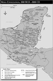 Aztec Mayan Inca Map Mayas Credo Reference