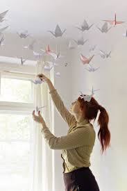 Bird Decorations For Home Best 25 Origami Decoration Ideas On Pinterest Origami Paper