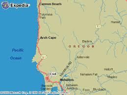 map of oregon lighthouses manzanita vacation rentals